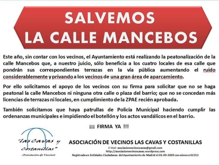 Cartel Mancebos